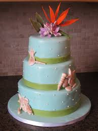 tropical beach theme wedding cake diary of a cakeaholic