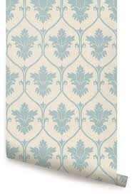 damask wallpaper peel and stick transitional wallpaper by