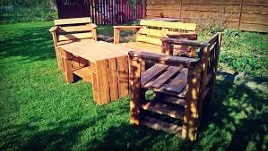 Patio Furniture Using Pallets - pallet patio furniture diy and crafts