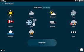 meteo sur mon bureau météo android apps on play
