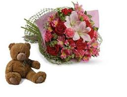 birthday bears delivered 22 best teddy with flowers images on flowers