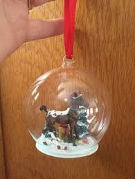 sledding adventures glass globe ornament 2009 breyer breyer