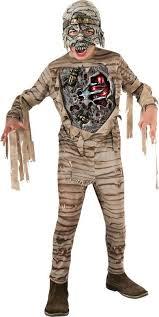 Kids Mummy Halloween Costume Halloween Kids Fancy Dress Horror Film Character Boys Childrens
