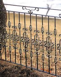 licious wrought iron balcony railings feature black stained