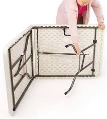 6 ft portable folding table folding portable exhibit table 6 ft