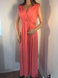 Vanity Fair Long Nightgowns Vtg 1960 U0027s Vanity Fair Nightgown Retro Busty Pin Up Tricot Nylon