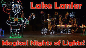 2016 lake lanier magical nights of lights adventure