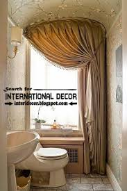 bathroom valances ideas curtain designs