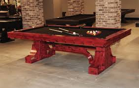 rockefeller steel pool table by p u0026h custom usa