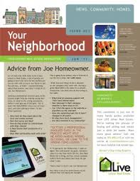housing trends newsletter marketing ideas for real estate
