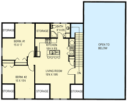apartments over garages floor plan rv garage with apartment above 35489gh architectural designs