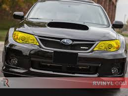 subaru yellow rtint subaru forester 2014 2016 headlight tint film