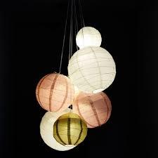 paper lantern light fixture how to do your own wedding paper lantern chandelier