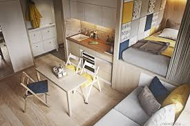 Simple Home Design Inside Style Ultra Tiny Home Design 4 Interiors Under 40 Square Meters