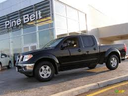 nissan frontier king cab for sale 2008 nissan frontier se crew cab 4x4 in super black 436742