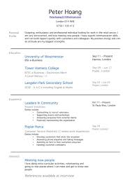 Resume Experience Order Cover Letter Sample Resume No Job Experience Sample Resume With No