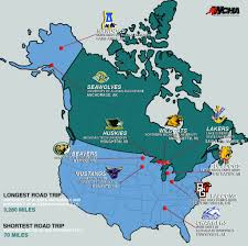 Uaa Map The Wide And Not So Wide World Of The Wcha The Northern Light