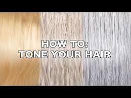 How Long To Wait Before Washing Hair After Coloring - how to tone hair by tashaleelyn youtube