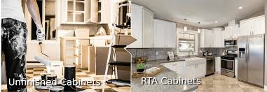 are unfinished cabinets cheaper unfinished kitchen cabinets vs rta cabinets the ultimate