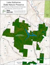 Athens Ohio Map by Athens Area Outdoor Recreation Guide Lake Katharine State Nature