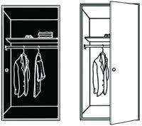 automatic closet door light switch closet light automatically lights any closet when door is opened
