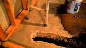 Installing A Basement Toilet by Plumbing In A Basement Bathroom Mp4 Youtube