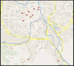 Ferrara Italy Map by City Map Of Vicenza