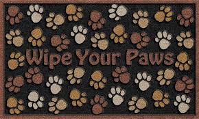 Welcome Mat Wipe Your Paws Durable Front Door Mats Made In Usa