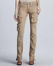 ralph lauren black label womens stretch cargo pants safari shimmer