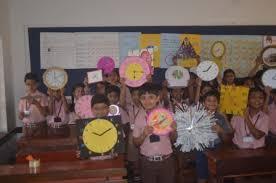 maths project for class 1 to 5 lourdes central bejai