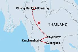 Hmong Map Thailand Touren U0026 Reisen Intrepid Travel Intrepid Germany