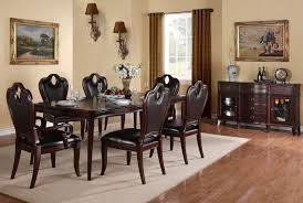 traditional formal dining room sets cozy dining table set traditional windsor court vintage fruitwood