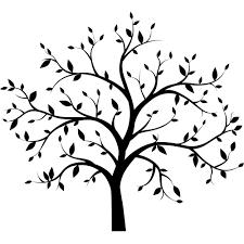 tree decals vinyl trees tree silhouette vinyl tree silhouette