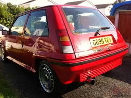 renault red renault 5 gt turbo red ggt