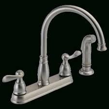 delta 2 handle kitchen faucets b2410lf two handle kitchen faucet