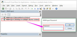 how to set password to protect hidden sheet in excel