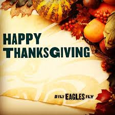 family food happy thanksgiving to the best fans eagle one