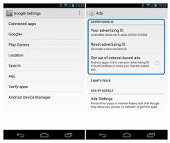 s advertising identifier tune help - Ad Tracking Android