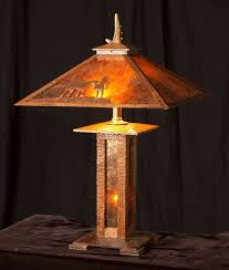 Arts And Crafts Desk Lamp Built To Order Mission Style Table Lamp Arts And Crafts Oak