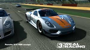 porsche 918 racing real racing 3 u2014 porsche 918 rsr concept topspeed 324 km h