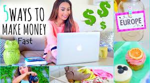 top 5 easy ways to make money online quick ways to make money