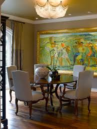 Graceful Decorations For Traditional Dining Room Walls - Dining room paintings