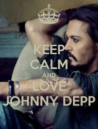 Johnny Depp Quote On Love by Keep Calm And Love Johnny Depp Keep Calm Pinterest Johnny