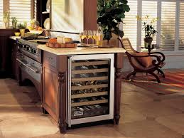 kitchen kitchen island wine fridge beautiful home design luxury