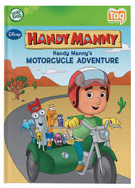 amazon leapfrog tag activity storybook handy manny u0027s