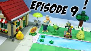 plants vs zombies toy play episode 9 the backyard pool party