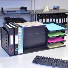 Ultimate Desk Organizer Versafile 5 Divider 3 Shelf Organizer Ultimate Office