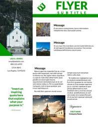 church flyers templates u0026 designs lucidpress