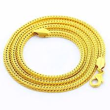 new arrival fashion 24k gp gold plated mens women click to buy new arrival fashion 24k gp gold color necklace