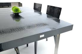 dining table cool lacquer dining table and decor ideas white